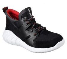 Skechers 97690L/BLK Hydrus Black Designed In Los Angeles Kids Boy Size 11-3