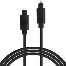 Digital Audio Optical Cable Toslink SPDIF Cord + Toslink Splitter For CD DVD PS3