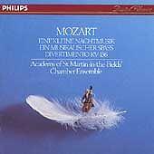 Mozart: Eine kleine Nachtmusik Malcolm Latchem Phillips CD 1990