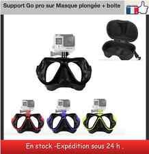 Masque de plongée support mount Go pro hero /SJ  avec étui