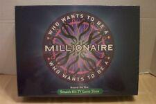Who Wants To Be A Millionaire Smash Hit TV Game Show Pressman #5000 NIB 2000!