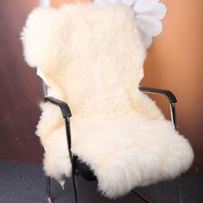 Luxe Peau de Mouton Véritable Moelleux Fourrure Tapis Peluche Windward Simple