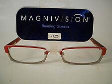 Reading Glasses Foster Grant Magnivision SHILOH RED  1.25   2.25   2.75