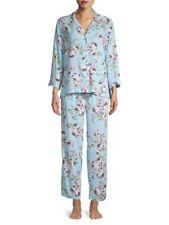 NWT Miss Elaine Floral Rayon Pajamas, M L XL * $72 *