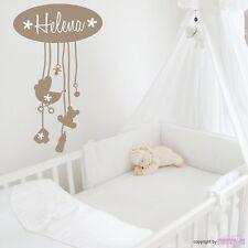 Pegatina pared Little Baby - Chupete TEDDY Dormitorio Infantil Bebé Adhesivo de