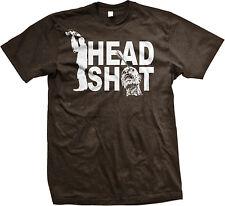 Head Shot Arrow Eye Crossbow Zombie Kill Undead Shoot Walking Hit Men's T-Shirt