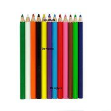 Lápices de Colores 12Pc de espesor de madera pluma de dibujo para niños estudiante Dibujo Conjunto de Regalo