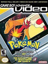Game Boy Advance Video: Pokémon Johto Photo Finish & Playing With Fire NINTENDO