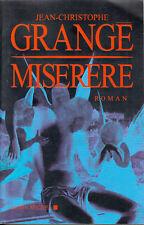 Livre grangé miséré J.Christophe book