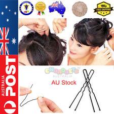 Hairpins Hair Pins U Shape Bobby Clip Style Bun Maker 6cm Girls Womens Accessory