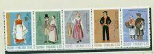 COSTUMI NAZIONALI - COSTUMES FINLAND 1972 CommoN Stamps