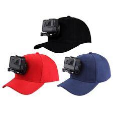 PULUZ for Go Pro Accessories Outdoor Sun Hat Topi Baseball Cap W/Holder Mo G6U5