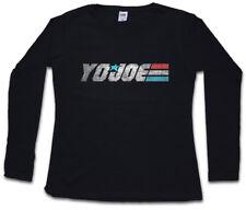 Kaido Joe señora manga larga T-Shirt gi joe Comandante Cobra Kai Destro Action Force