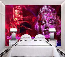 Marilyn Monroe 3D Full Wall Mural Photo Wallpaper Printing Home Kids Decoration