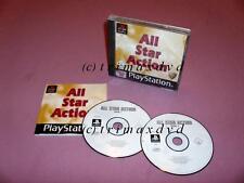 PS1 _ All Star Action - 12 Spiele _ sehr guter Zustand _Über 1000 Spiele im SHOP