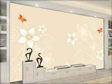 Plain Slim Blocks 3D Full Wall Mural Photo Wallpaper Printing Home Kids Decor
