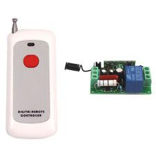 110V 220V Wireless RF Remote Control Relay Switch Transceiver+Receiver