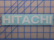 "Hitachi Sticker Decal 7.5"" 11"" Drill Nail Gun Compressor Saw Skill Impact 18v"