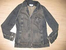 Jackpot Jeans Jacke Gr.38/40 grau used