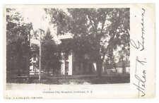 Cortland City Hospital New York 1905 UDB Building Postcard - Architecture