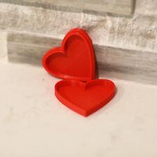 Novelty Red Heart Jewellery Box Cute Gift Anniversary Ring Storage Organiser