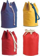 sacca borsa con corda in nylon 600D per palestra,piscina,mare,campeggio 3 col.