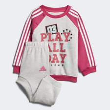 Adidas Bébés Filles Graphique Molleton Jogger Survêtement Enfants Ensemble a2233d635e3