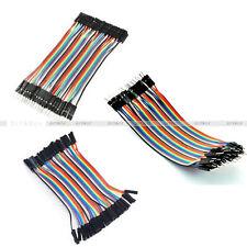 Multi Dupont Male to Female Breadboard Jumper Wire Raspberry Pi Arduino 10CM