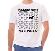 SHAR PEI UNISEX T-SHIRT BLACK SHEEP by SIVIWONDER
