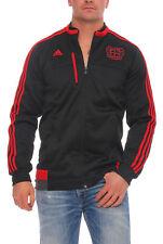 Adidas B04 ANTHEM chaqueta sudadera BAYER 04 LEVERKUSEN Hombres Negro s90137