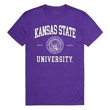 Kansas State University Wildcats NCAA College Logo Licensed T-Shirt S-2XL