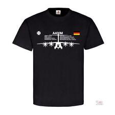 A400m frente a 400 m ejército alemán BW fuerza aérea Cruz Alemania t shirt #22784