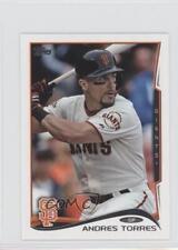 2014 Topps Mini #303 Andres Torres San Francisco Giants Baseball Card