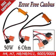 Error Cancellor Anti Flicker LED Headlight H1 H4 H7 H11 H9 9005 Resistor Decoder