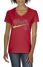 "V-NECK Ladies RED Yadi Molina St. Louis Cardinals ""Yadi""  shirt Ladies"