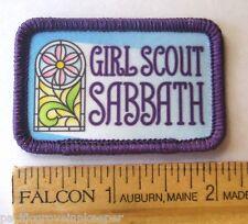 Girl Scout GSUSA SABBATH PATCH Religious Catholic Event Celebration NEW