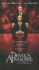 Devil's Advocate (VHS, 1998) Keanu Reeves Al Pacino NEW SEALED