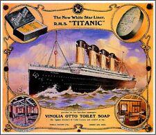 1912 Titanic #2 White Star Ocean Liner Art Travel Advertisement Poster Print