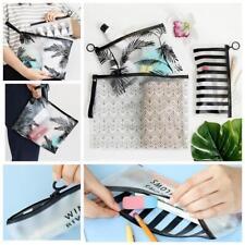 Organizer Clear Cosmetic Bag Pencil Pen Case PVC Makeup Pouch Toiletry Holder