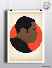 Jay Z-Minimaliste Hip Hop têtes cheveux Poster Minimal posteritty Art Blueprint