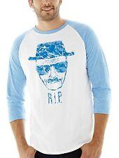 AMC Breaking Bad Heisenberg RIP Baseball T-Shirt - Men's S M L XXL - New w/Tags!
