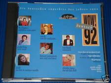 WOW ! DEUTSCH 92 / 2 CD'S ROY BLACK HANNE HALLER NICKI DRAFI DEUTSCHER TOM ASTOR