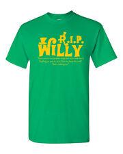 Willy Wonka RIP Rest in Peace Gene Wilder Men's Tee Shirt 1510