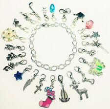 Adventskalender 24 Charm Füllung Weihnachten Mädchen Frauen Armband Schmuck