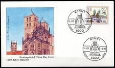 BRD 1993: Münster 1200 Jahre! FDC Nr. 1645 mit Bonner Sonderstempeln! 1A 1612