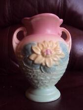 Vintage Original Hull Art Pottery Water Lily Vase L-1, 5 1/2 . Cute! Look!