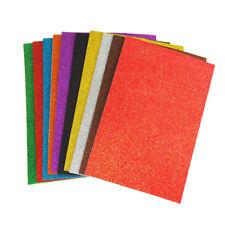 Self-Adhesive Glitter EVA Foam Sheets, 8-Inch x 12-Inch, 3-Piece