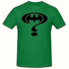 Riddler Batman Funny  Men's T-Shirt,SM-2XL,Fancy Dress,Retro,Superhero Tee Shirt