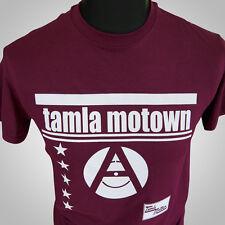 Tamla Motown Retro Music T Shirt Vintage Hipster Cool Classic Record Company M