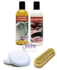 Kit de limpieza de cuero profesional Raceglaze-limpia y condiciones asientos & Trim